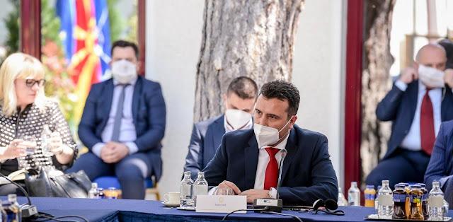 Σκόπια: Ο Ζόραν Ζάεφ έλαβε εντολή να σχηματίσει κυβέρνηση