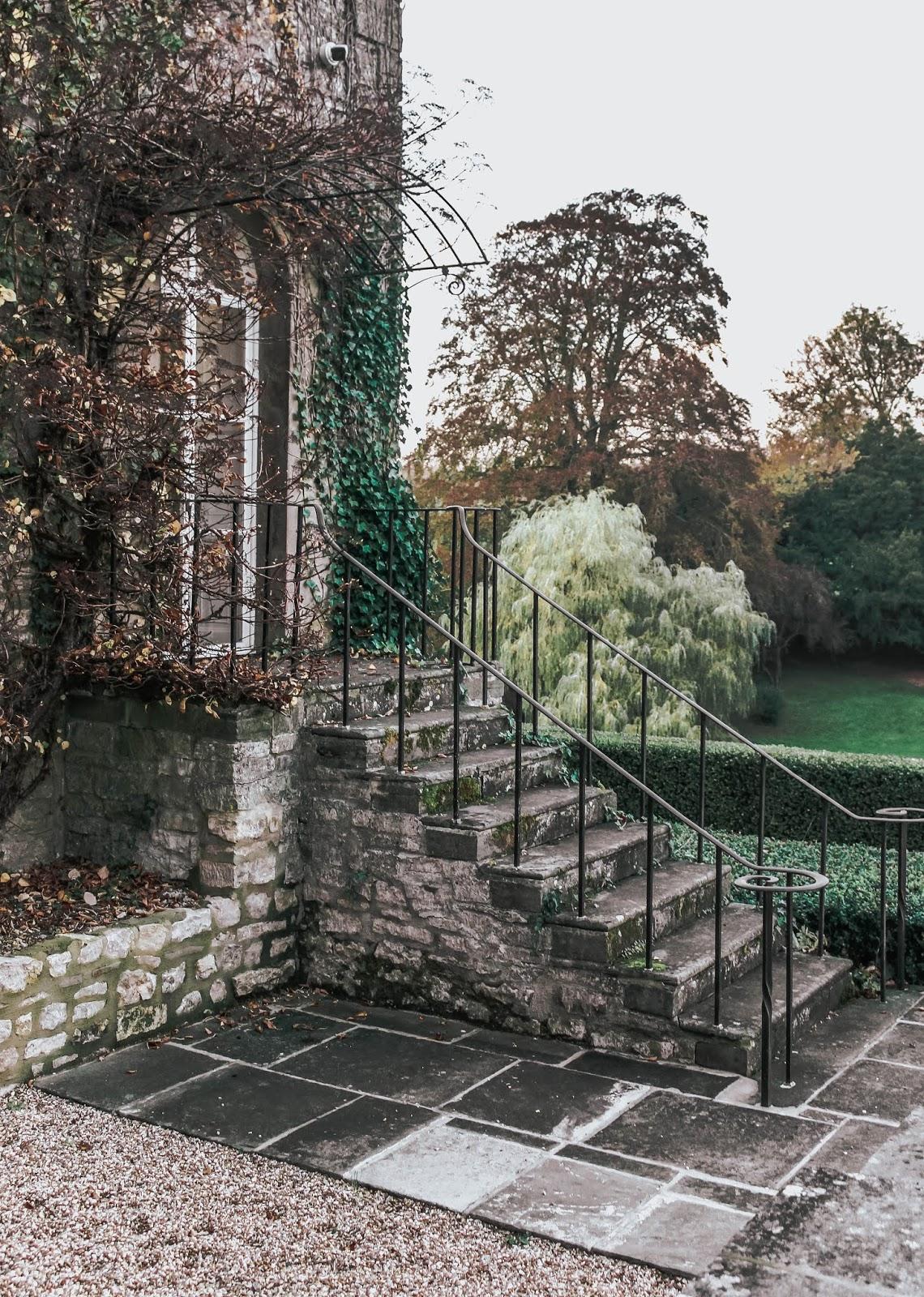Ston Easton Park Hotel Outdoor Staircase