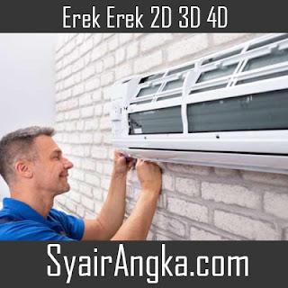 Erek Erek Mimpi AC Rusak Bocor di Primbon 2D 3D 4D