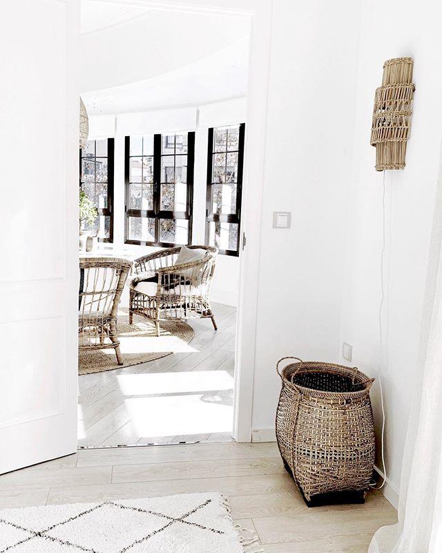 La oasis de relax de Päivi Lemström en Palma de Mallorca en estilo rústico escandinavo y con muchas ideas de decoración.