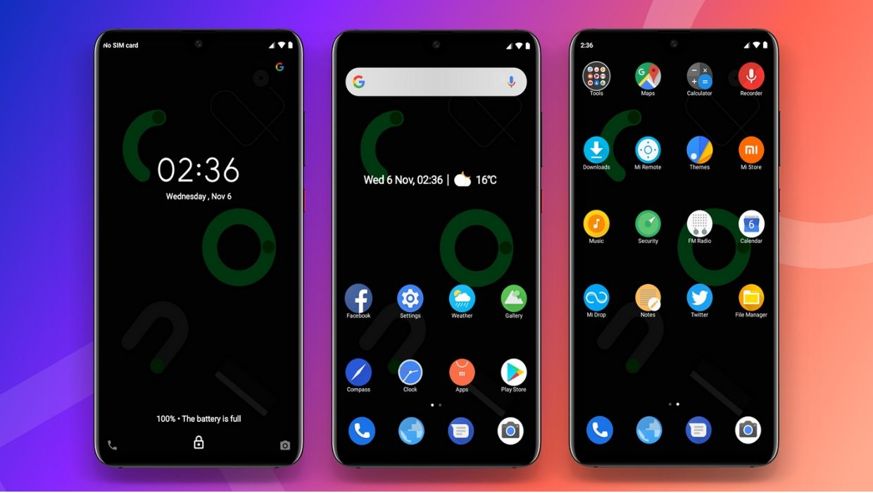 Android 10 MIUI Theme