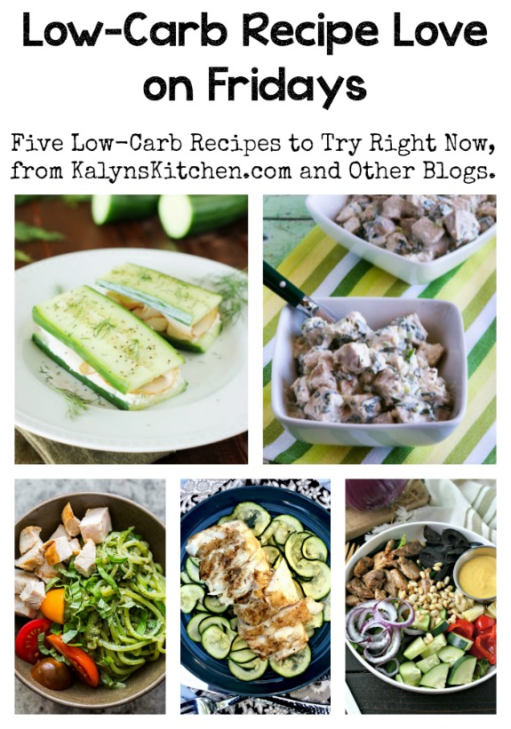 Low-Carb Recipe Love on Fridays (7-22-16)