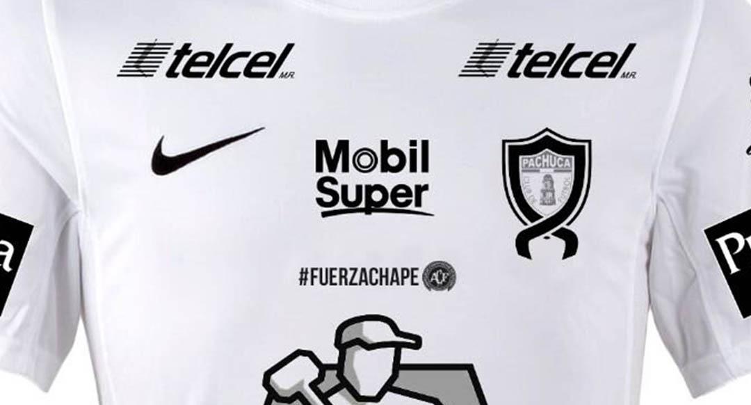 Special Nike Club Pachuca Chapecoense Tribute Kit Released - Footy