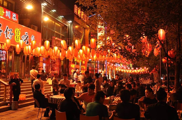 phố ẩm thực shanghai grand world