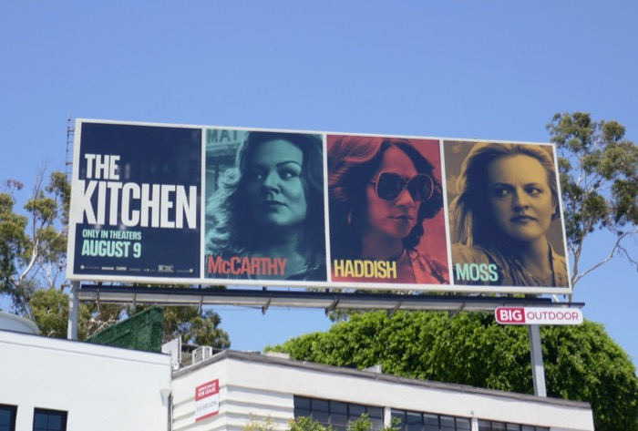 The Kitchen movie billboard