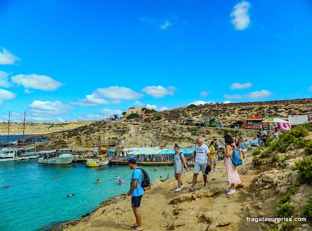 Lagoa Azul de Malta
