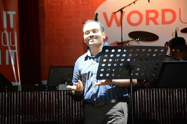 Amit Agarwal - ProBlogger at WordUp Event