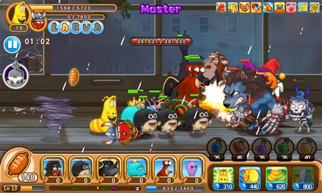 Game Larva Heroes: Lavengers Mod Apk