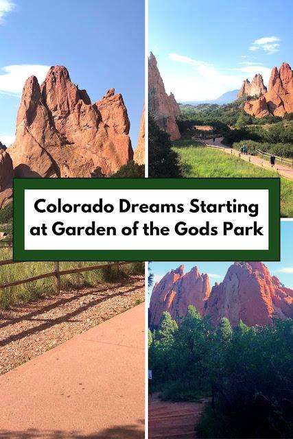 Colorado Dreams Starting at Garden of the Gods Park in Colorado Springs