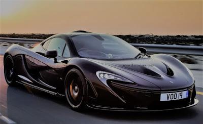 McLaren P1 mobil termahal