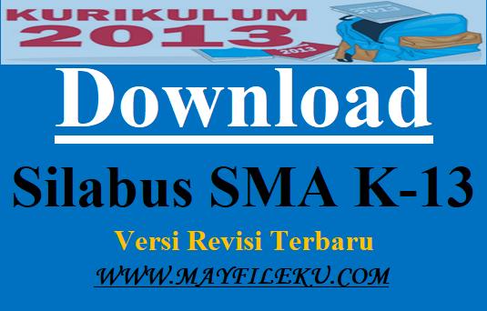 24 Download Silabus SMA K-13 Versi Revisi Terbaru
