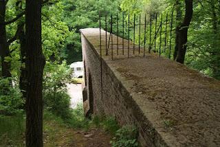 Aquäduktbrücke von oben