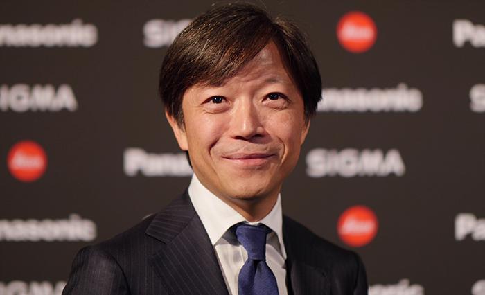 Директор Sigma господин Казуто Ямаки
