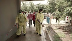 TNI-Polri Bersama Pemkab Serentak Melaksanakan Penyemprotan Disinfektan