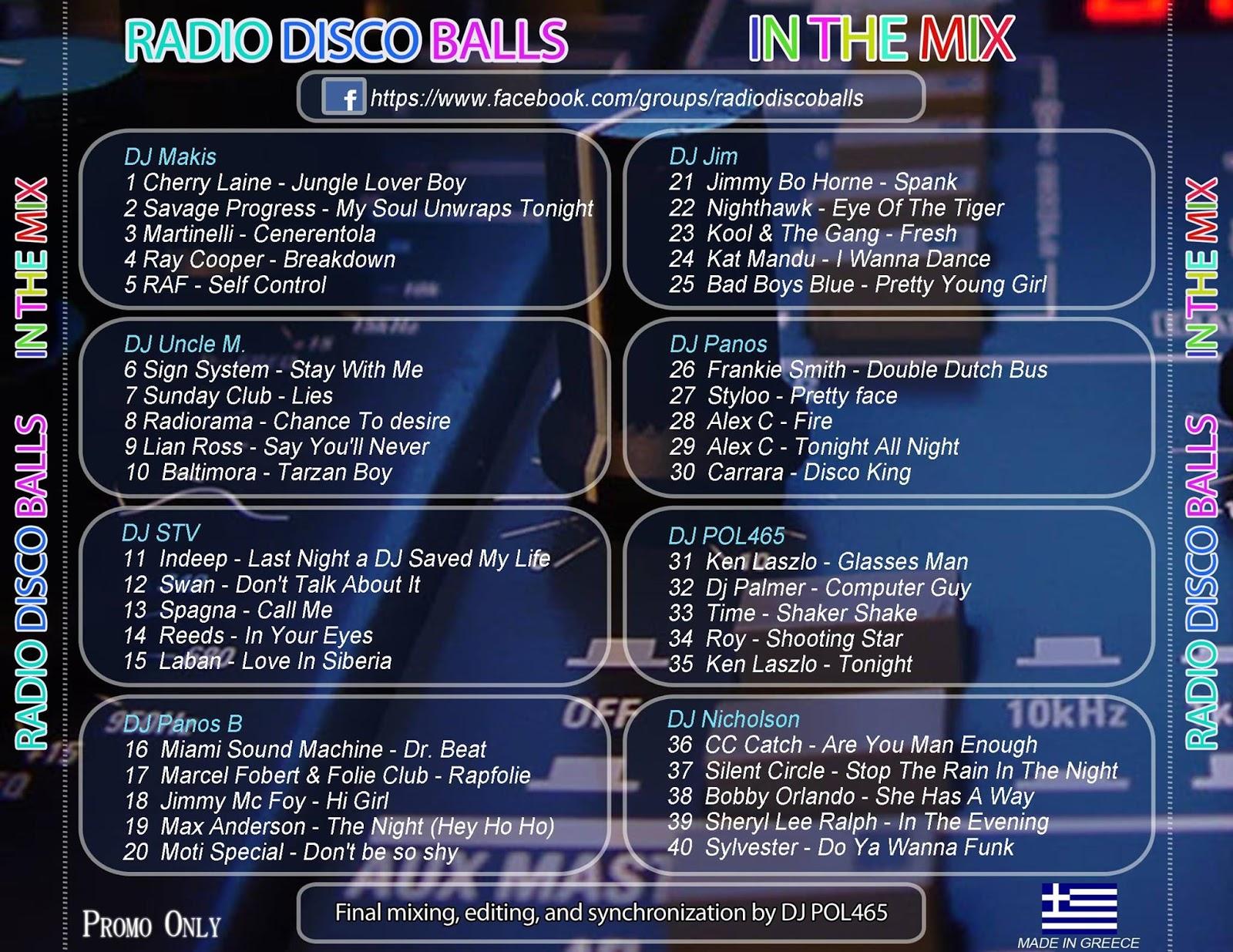 The Mixtape World Radio Disco Balls In The Mix 65 02