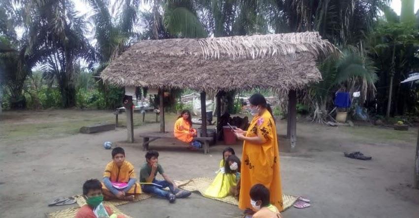 APRENDO EN CASA: Conoce a la ejemplar pobladora asháninka que ayuda a los niños a acceder a estrategia educativa del MINEDU