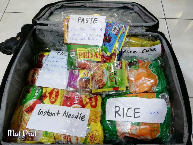 Bawa makanan masuk Australia