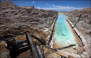 lithium di bolivia, chile, dan argentina