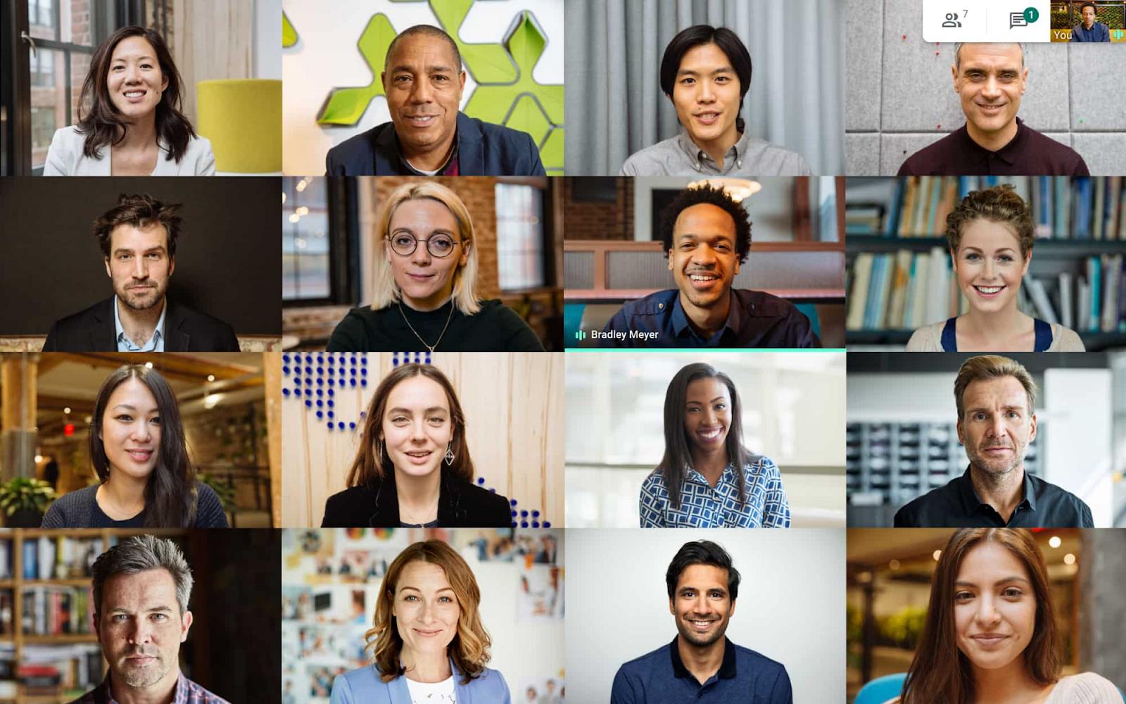 Google Meet ottiene nuove funzionalità per le videoconferenze