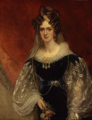 Portrait of Queen Adelaide by William Beechey, 1831