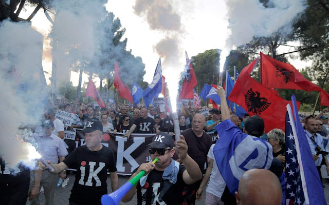 Σε τροχιά ανοιχτής μετωπικής σύγκρουσης Μέτα και Ράμα στην Αλβανία