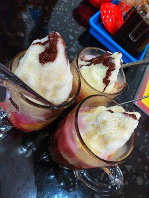 Es Kacang Pelepas Dahaga di Pempak VICO