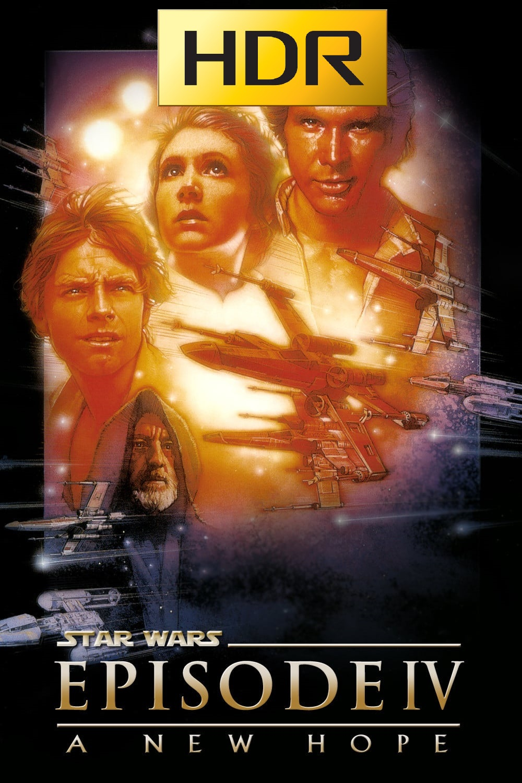 Star Wars: Episodio IV (1977) 4K UHD HDR Webrip Latino