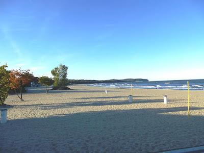 Beach at Sopot in October