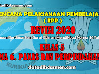 RPP KELAS 5 TEMA 6 SD/MI KURIKULUM 2013 REVISI 2020