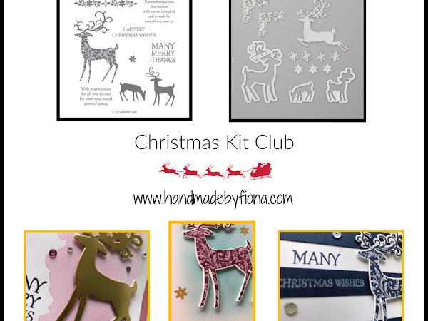 Dashing Deer Christmas Card Kit