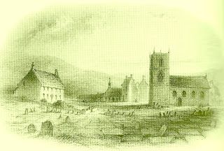 Páramo de Howarth, con la casa de los Brontë al fondo