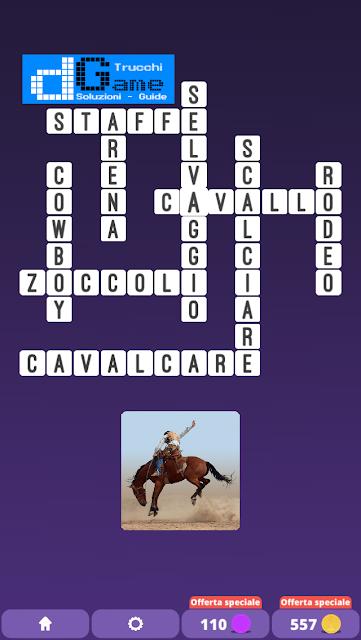 Soluzioni One Clue Crossword livello 25 schemi 1  (Cruciverba illustrato)  | Parole e foto