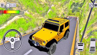Mountain 4X4 Jeep Racing Simulator Drive 2019