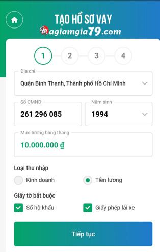 vay tiền online avay