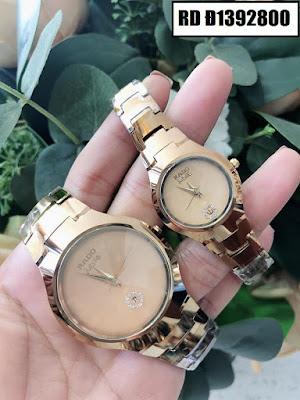 Đồng hồ cặp đôi Rado mặt tròn RD Đ1392800