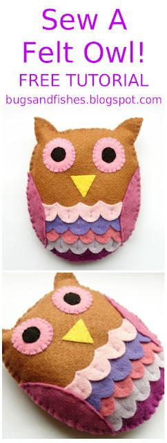 Patterns Felt Owl Owl Printable gracecollege