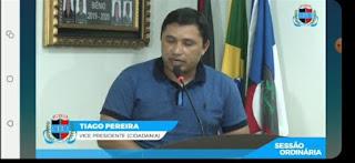Vereador por Cacimba de Dentro Tiago Pereira CIDADANIA pede tablets para alunos acompanharem as aulas remotas no âmbito municipal
