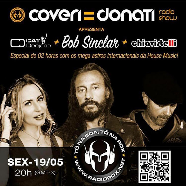 Listen to Coveri & Donati Radio Show: guests star dj Cat Deejane + Bob Sinclar + DJ Chiavistelli