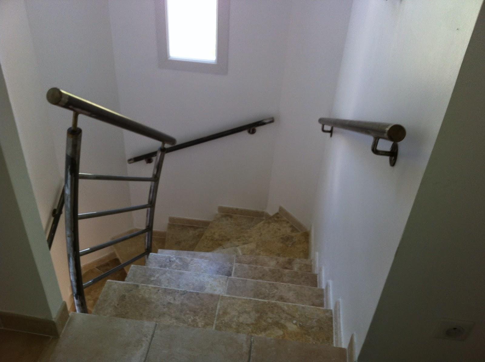 l 39 art de fer creation rampe d 39 escalier et main courante contemporain. Black Bedroom Furniture Sets. Home Design Ideas