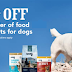 45%/55% off Wag Dog  and Cat Food! Awesome Prices on Dry Dog Food, Canned Dog Food, Jerky, Dog Treats or Wet Cat Food - Coupon Can Be Used 7 Times!!
