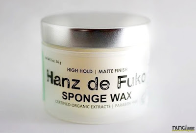 Jual Hanz de Fuko Sponge Wax Baru  Men's Grooming Products