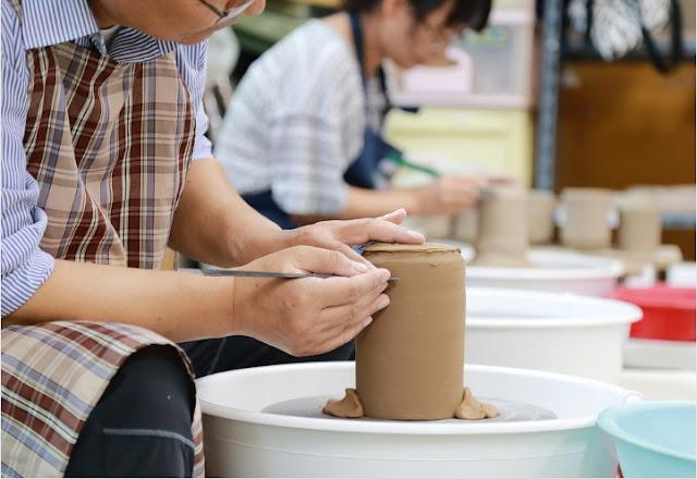 Activity based learning, Craft, Pottery, Porcelain, Art, Works, Hobby, school
