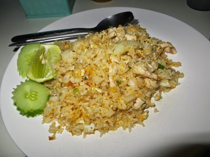 Тай фуд. Жареный рис