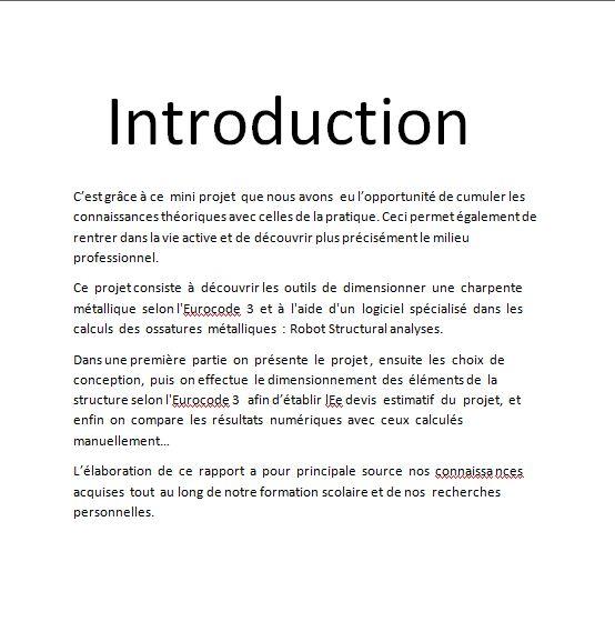 exemple d'introduction de lettre