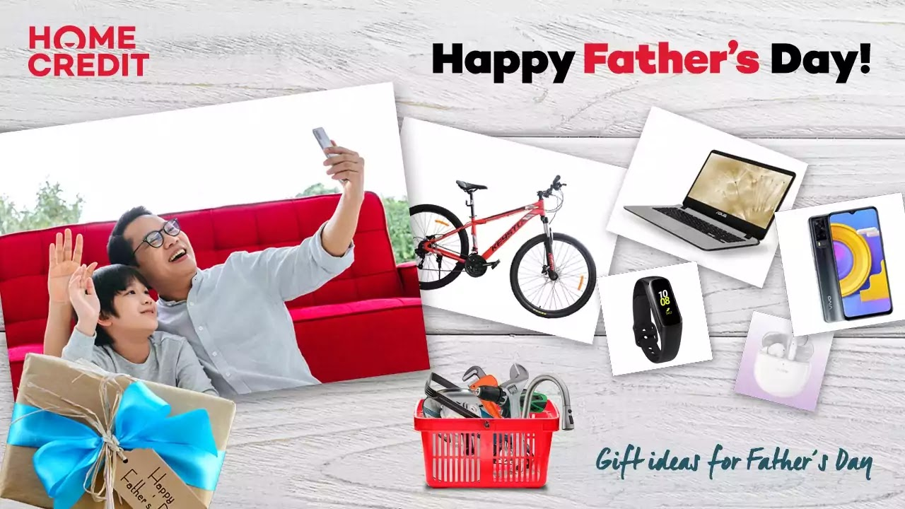Home Credit Gift Ideas for our Superhero Dads