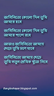 Bangla sad shayari photo