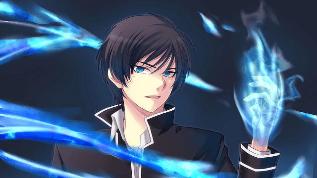 dengan api birunya, Rei Ogami mampu membakar semuanya