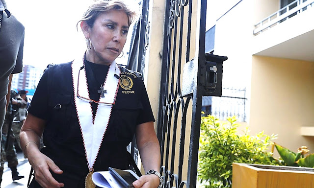 La fiscal Sandra Castro,caso Rich Port II