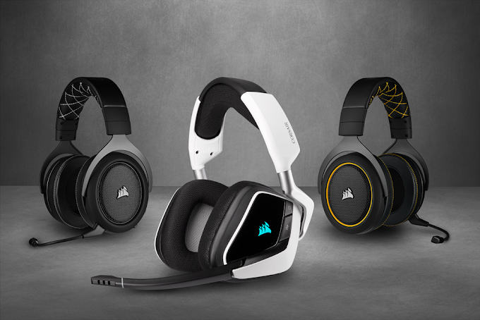 Corsair Expands HS and VOID Lineups with Void Elite and HS PRO Headsets