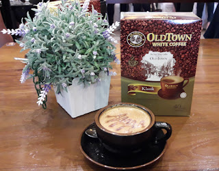 oldtown white coffee arkadia cafe